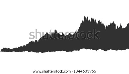 infographic of spectrum black noise sound waveform, chart, graph concept. Vector illustration isolat Stock photo © kyryloff