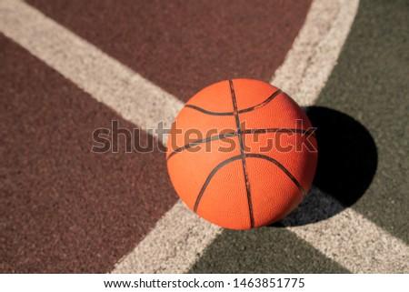 Baloncesto artes dos blanco líneas estadio Foto stock © pressmaster