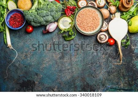 Aliments sains régime nutrition sécher verre jar Photo stock © vkstudio