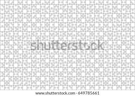 25 branco peças praça modelo Foto stock © evgeny89