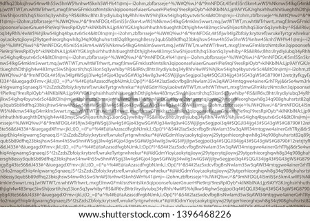 Cinza complicado símbolos branco dados Foto stock © evgeny89