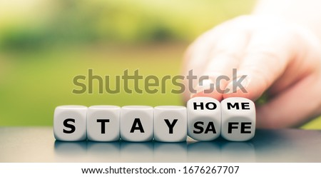 Stay safe concept Stock photo © goir