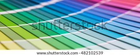 ストックフォト: 色 · 紙 · 白 · 文字 · グランジ · 塗料