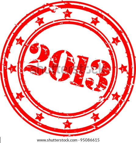 2013 rubber stamp stock photo © outstyle