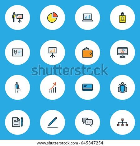 ストックフォト: ビジネスマン · 図面 · パイ · チャート · その他 · インフォグラフィック