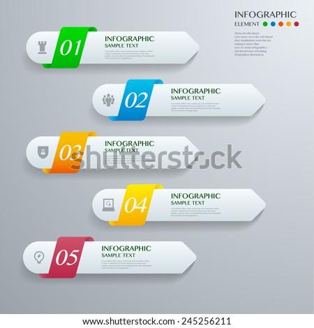 インフォグラフィック · 白 · グレー · eps · 10 · ベクトル - ストックフォト © jiunnn