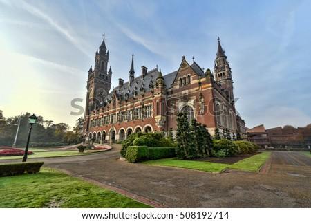 palais · Pays-Bas · parlement · bâtiments · arbre - photo stock © vladacanon