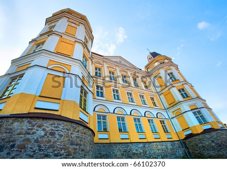 греческий католический собора Церкви город Украина Сток-фото © artfotoss
