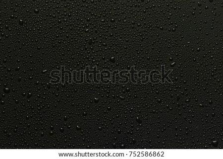 水滴 メタリック 表面 パターン 抽象的な 背景 ストックフォト © meinzahn