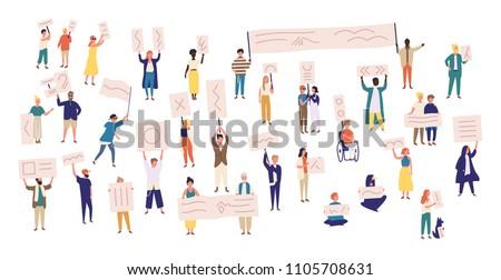 человека · плакат · белый · бизнеса · бумаги · рук - Сток-фото © dmitroza