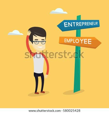 アジア ビジネスマン 思考 仕事 キャリア パス ストックフォト © FrameAngel