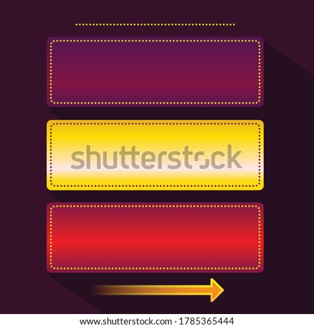 Casino frame with space for text. Gambling isolated on a white background. Poker, card games, one-ar Stock photo © lucia_fox