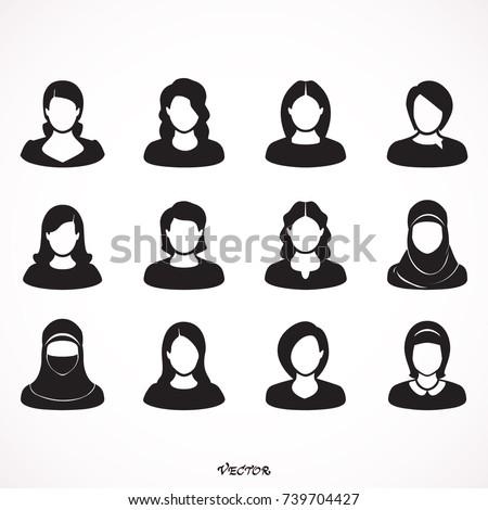 ストックフォト: 美しい · ムスリム · アラブ · 女性 · 女性