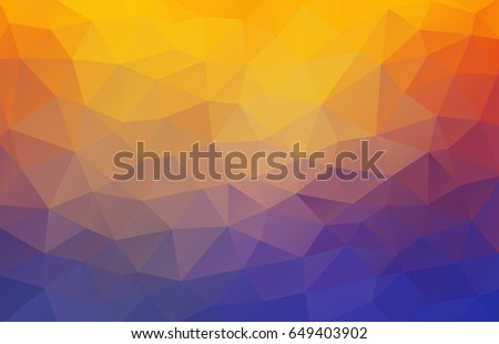 flat 2d bright yellow and blue abstract triangle shape background stock photo © igor_shmel