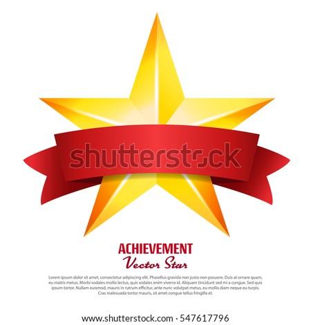 Prestatie vector star Geel teken Stockfoto © pikepicture