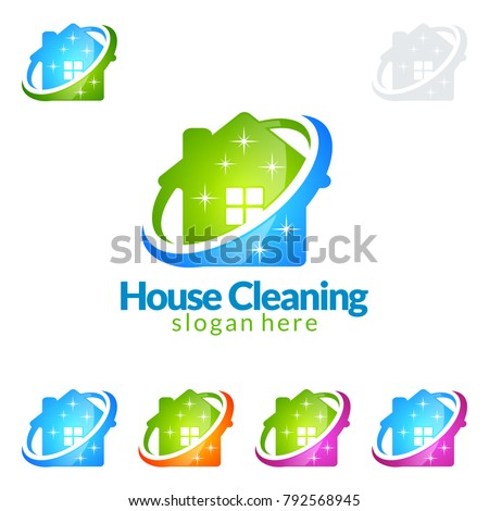 Windows Cleaning Service Vector. Window Washer Is Cleaning High Building. Washing Windows Of The Mod Stock photo © pikepicture