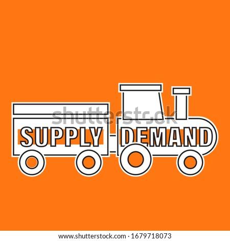 поставлять · спрос · равновесие · бизнеса · знак · зеленый - Сток-фото © olivier_le_moal