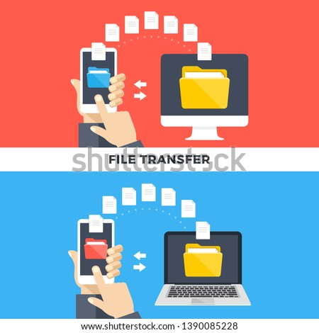 Share Document file vector icon with hand. flat sign for mobile concept and web design. Paper doc si stock photo © kyryloff