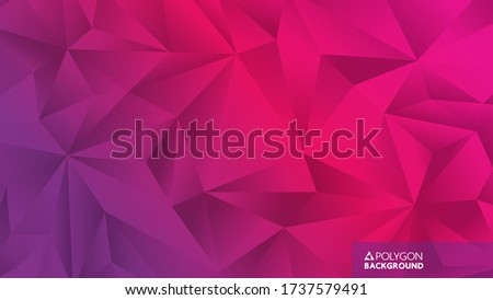 Magenta Abstract Diamond and Rectangle Shape Vector Illustration Stock photo © cidepix