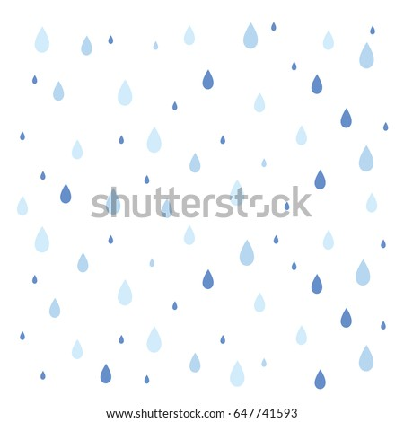 Modern cute vector pattern with colorful rain drops with texture  Stock photo © Pravokrugulnik