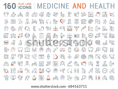 medical icons Stock photo © get4net