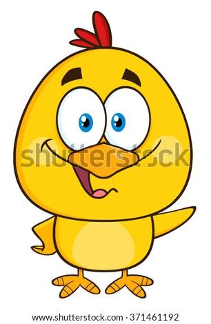 Buona pasqua sorridere giallo chick coniglio Foto d'archivio © hittoon