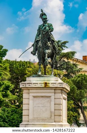 Második király Olaszország kilátás melltartó tér Stock fotó © boggy