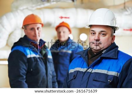 Engenheiro fogo engenharia aquecimento abrir Foto stock © Lopolo