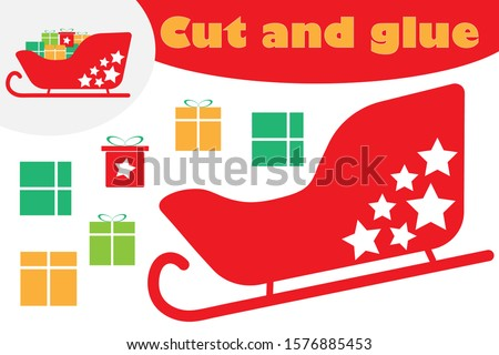 ножницы Cut изображение клей Сток-фото © natali_brill