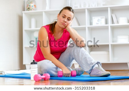 Fitness athletes weight loss workout. Getting in shape for the summer Stock photo © Maridav