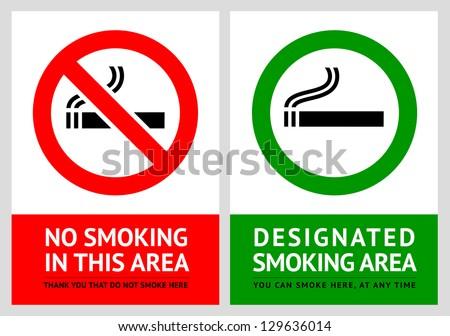 курение · Этикетки · набор · прав · промышленности - Сток-фото © ecelop