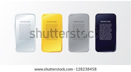 Vektor luxus fém űr szöveg arany Stock fotó © vitek38