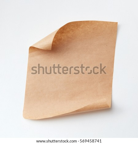 グランジ 孤立した 紙 シート センター コピースペース ストックフォト © pashabo