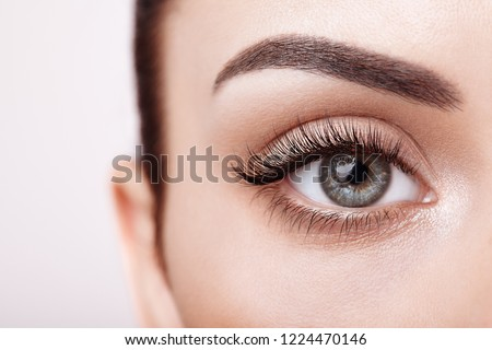 Extreme luxury makeup model. Beautiful woman with healthy hair and skin Stock photo © Geribody
