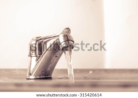 grifo · mezclador · aislado · blanco · agua · metal - foto stock © ozaiachin