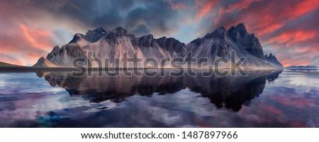 Icelandic coast Stock photo © prill