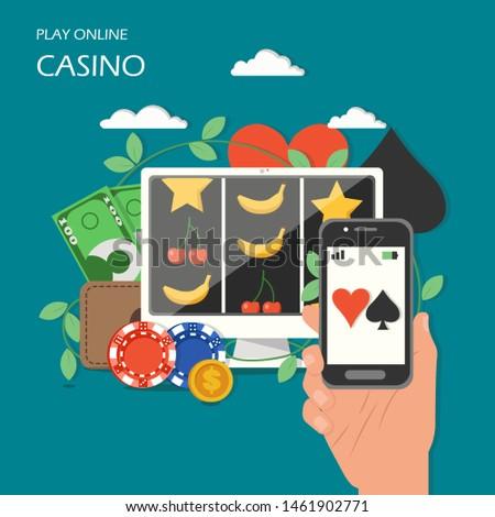elektronische · gadgets · speelkaarten · mobiele · telefoon · dobbelstenen · casino · chips - stockfoto © wavebreak_media