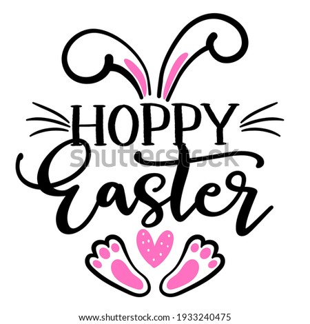 He is risen phrase. Hand drawn easter greeting card.  Modern calligraphy Stock photo © Galyna_Tymonko