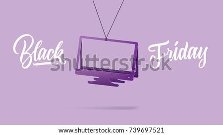 черная · пятница · продажи · знак · сезонный · розничной · поощрения - Сток-фото © artjazz