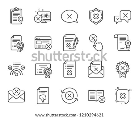 belge · dosya · vektör · ikon · imzalamak · hareketli - stok fotoğraf © kyryloff
