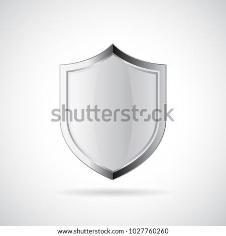 100 · 保護された · ガード · シールド · 安全 · バッジ - ストックフォト © kyryloff