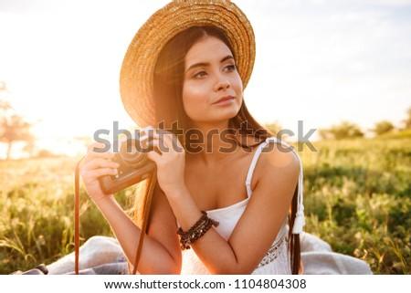 ストックフォト: 画像 · 少女 · 20歳代 · 長い · 黒い髪