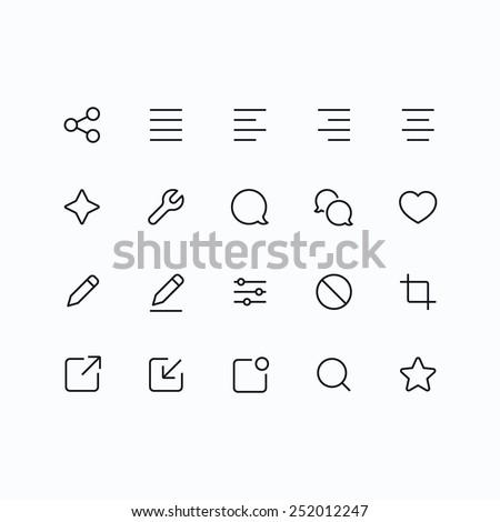 Stock fotó: Szövegbuborék · kettő · szívek · vékony · vonal · ikon