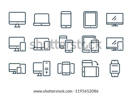 smartphones · interface · gps - foto stock © ukasz_hampel