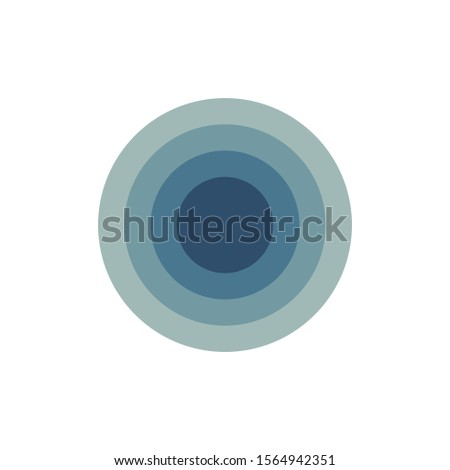 Infographic design circles inside each other, 5 options or steps. can be used for workflow layout, d Stock photo © kyryloff
