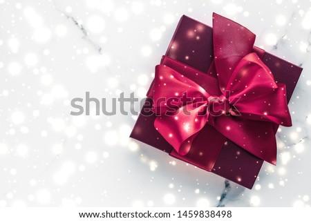 冬 休日 贈り物 桜 シルク 弓 ストックフォト © Anneleven