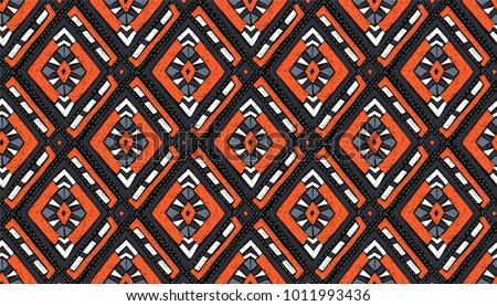 Plemiennych sztuki etnicznych geometryczny wydruku Zdjęcia stock © sanyal