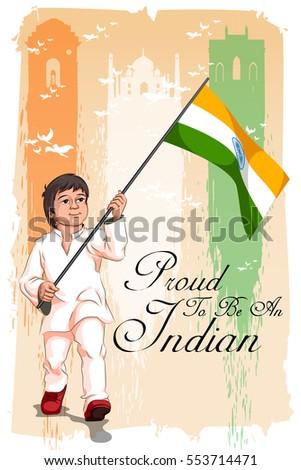 Poster dizayn cumhuriyet gün Hindistan çocuklar Stok fotoğraf © bluering