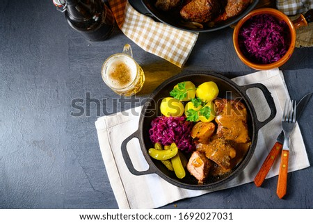 Carne de porco especialidade Foto stock © Dar1930