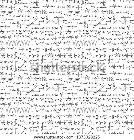 Fekete bonyolult tudományos képletek széles fehér Stock fotó © evgeny89